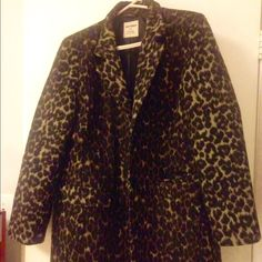 Spotted while shopping on Poshmark: Old Navy leopard coat! #poshmark #fashion #shopping #style #Old Navy #Jackets & Blazers