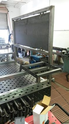 Welding Up A Bed Frame Furniture That I Made
