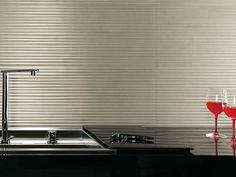 3D ceramic wall tile: striped (European Eco-label) MERLIN TRAFILATO FAP ceramiche