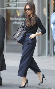 Victoria & Harper Beckham: Βόλτες στη Νέα Υόρκη
