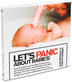 ThinkGeek :: Let's Panic About Babies!