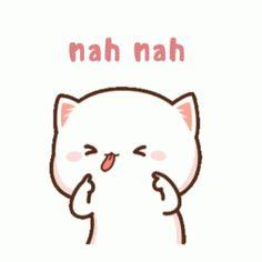 Cute Anime Cat, Cute Bunny Cartoon, Cute Couple Cartoon, Cute Cartoon Pictures, Cute Love Cartoons, Cute Cat Gif, Cartoon Pics, Cute Bear Drawings, Cute Animal Drawings Kawaii