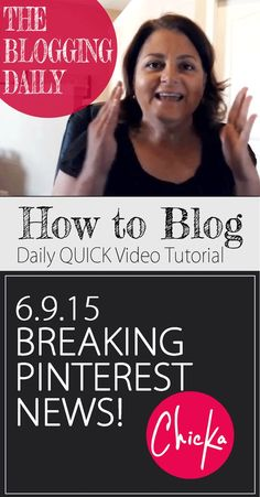 Pinterest just added a new feature that I have wanted FOREVER! You MUST verify your website to take advantage! Blogging Tips | How to Blog