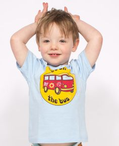 Get On the #Bus Toddler T-Shirt