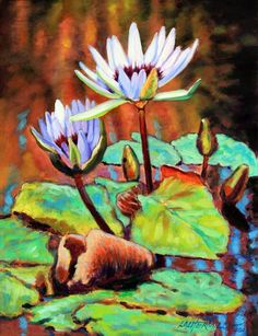 The Beauty of the Lily - Paintings by John Lautermilch