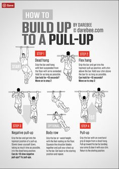 how to work up to a pull up