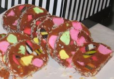 New Zealand Lolly Log Cake Recipe - Genius Kitchen Christmas Dishes, Christmas Desserts, Baking Recipes, Cake Recipes, Lolly Cake, Food Log, Thinking Day, Cake Toppings, Sweet Recipes