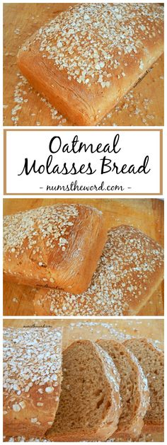 This oatmeal molasses bread is packed with flavor and will make your entire home smell amazing. Simple, yet delicious and always a hit, our favorite bread!