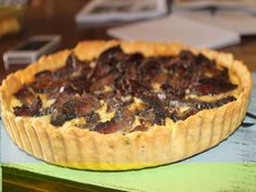 A great dish for picnics or family lunches. This simple but tasty biltong tart always goes down a treat. Recipe supplied by Ena Smuts. Quiche Recipes, Tart Recipes, Cooking Recipes, Biltong, Savory Tart, South African Recipes, Easy Delicious Recipes, Food And Drink, Favorite Recipes