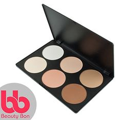 Contour kit, 6 Colors Professional Face Sculpting, Camouflage and Concealing Powder Makeup Blush Palette, By Beauty Bon® *** Click image for more details.
