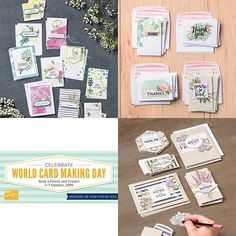 Do you want to take the plunge into Card Making? These Card Kits are a great jumping off point. . Each kit includes all the card bases and embellishments a stamp set clear block and ink. . During Stampin' Up! World Card Making Day Sale these kits are all 10% off. . . . #stampinup30 #stampinup #stampinupdemonstrator #laurenmeiklejohnstamps #stampinupsouthpacific @stampinup @stampinupsthpac #annualcatalogue2018 #cardmaking #handmade #worldcardmakingday2018 #wcmd2018 #worldcardmakingday… Watercolor Pencils, Card Kit, Olives, Cardmaking, Embellishments, Stampin Up, Lavender, Gallery Wall, Ink