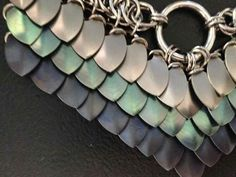Scale stabilization Chainmaille, Wire Crafts, Jewelry Crafts, Scale Mail, Dragon Scale, Body Armor, Wire Wrapped Jewelry, Archery, Homemade Gifts
