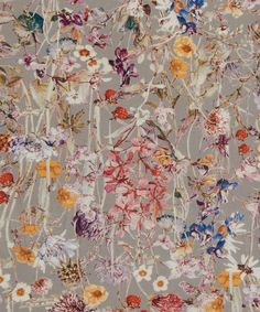 Liberty of London tana lawn fabric manufactured within the United Kingdom Design : Wild Flowers NEW DESIGN 2015 Fabric : cotton tana lawn Size : Textiles, Textile Prints, Textile Patterns, Textile Design, Print Patterns, Liberty Art Fabrics, Liberty Of London Fabric, Liberty Print, Motif Floral