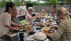 enjoy the food in resort in Con Dao