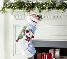 Snowman Stocking | Pottery Barn Kids