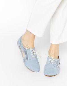 Image 1 - ASOS - MAN OVER BOARD - Chaussures découpées à lacets