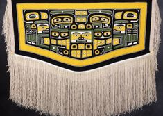 Native Art, Native American Art, Pacific Coast, Pacific Northwest, West Coast, Tlingit, Textile Texture, Indigenous Art, Art And Technology