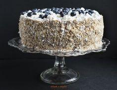 chleb miejski: Tort jagodowy z kremem mascarpone