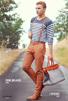 Personal style blogger Justin Livingston of mens fashion blog Munrowe