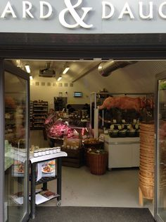 Butcher's - Dugard & Daughters in Herne Hill, London.  Selling rare breed meats.