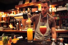 Scratch Bar gastropub: Scratch Bar serves cocktails designed by Dave Fernie of Pour Vous an. Los Angeles Food, Cocktails, Drinks, Scene, Restaurant, Bar, Craft Cocktails, Drinking, Beverages