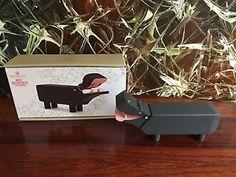 KAY BOJESEN Denmark Flusspferd Hippo Holztier Nilpferd schwarzer Tafellack   eBay