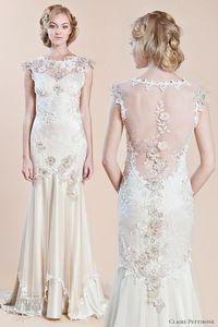 claire pettibone wedding dresses fall 2012- 2013 viola gown