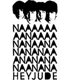 Vandal - Hey Jude Black by Enter t-shirt