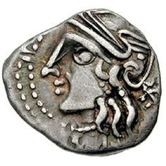 The beauty of Celtic coin is its abstracted representation of the designs and symbols.