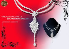 Unrivalled range of quality diamond jewellery  by vogue crafts and designs Pvt. Ltd.