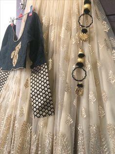 Black and gold ensemble by #studiohotchpotch