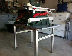 Fahrbares Untergestell für meine PTS10 aus Item Tischkreissäge,Gestell,PTS10,Item