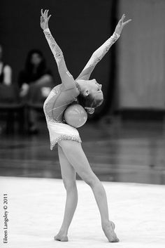lovely Rhythmic gymnastics
