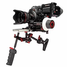 Canon C300 with Zacuto Striker kit