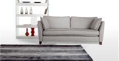 A nice rug, I've got lots of carpet to cover. Flint Rug 170 x 240cm in talc grey   made.com
