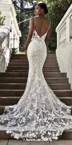 Sexy mermaid lace open back wedding dress. Find more: weddingdressesgui… Sexy mermaid lace open back wedding dress. Find more: weddingdressesgui… – Wedding Dress Black, Open Back Wedding Dress, Black Wedding Dresses, Wedding Dress Trends, Elegant Wedding Dress, Designer Wedding Dresses, Bridal Dresses, Gown Wedding, Wedding Cakes