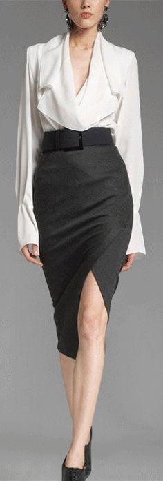 Donna Karan. Best. Business outfit. Ever.