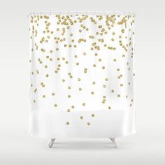 Threshold Shower Curtain Gold Ikat - just bought this for the new ...