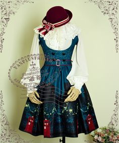 fanplusfriend - Time Lord, Cyber Gothic Underbust Dress/JSK*2colors Instant Shipping, $120.00 (http://www.fanplusfriend.com/time-lord-cyber-gothic-underbust-dress-jsk-2colors-instant-shipping/)
