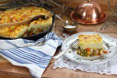 Leftover Turkey Skillet Shepherd's Pie recipe from PBS Food