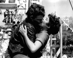 Funny, but it was always Kenicke for me not Danny Zucco. Loved this screen kiss x