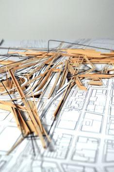 Conceptual Model Architecture, Architecture Portfolio, Interior Architecture, Sci Arc, Deconstructivism, City Model, Arch Model, Paper Models, Portfolio Design