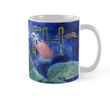 Eco Coffee Mug with Clean Ocean Sea Turtle art by Nola Lee Kelsey