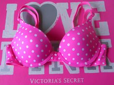 My bra And just love polkadots! Victoria's Secret is the best!