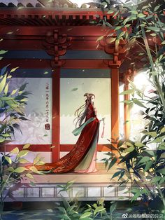 Anime Art Girl, Manga Art, Pen & Paper, Chinese Drawings, Fantasy Art Women, Painting Of Girl, China Art, Ancient China, Japan Art