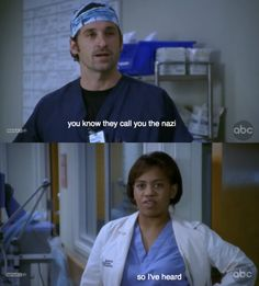 The benjamin franklin quotation from season 1 of greys anatomy.