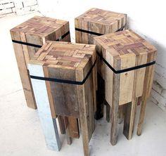 Outdoor Wooden Bar Stool Plans