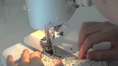 How to make a cloth pad with a sewing machine pt. 2