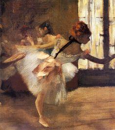 Edgar Degas - Ballet dancers - (79)