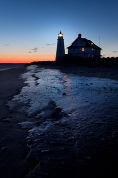 *Frozen Cove Point Lighthouse  (by Jeff Smallwood)
